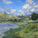 Claude Monet Landscape Painting Anysize Off