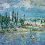 Claude Monet Paintings Landscape Thunderstorm Jpg