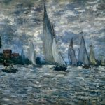 Claude Monet Paintings The Boats Regatta Argenteuil