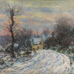 Claude Monet The Road Giverny Winter Sold Last Year But Hadn