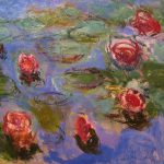 Claude Monet Water Lilies Detail