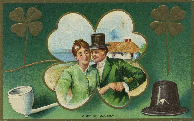Click One The Free Vintage Patrick Day Cards Below
