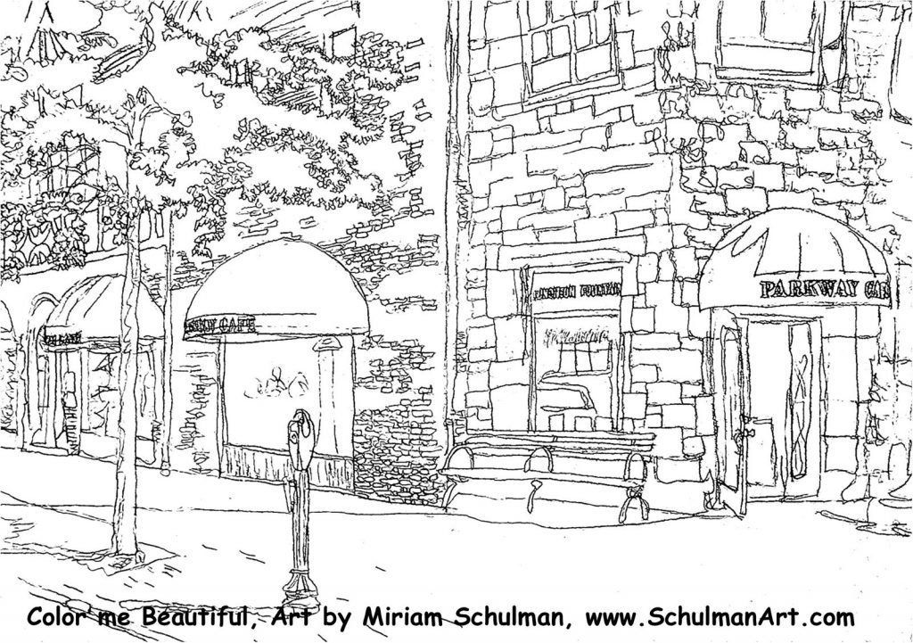 Coloring Pages For Scarsdale Art Association Show