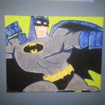Custom Batman Painting Canvas