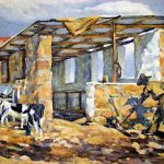 Dated Painting Rosa Hope South African Art
