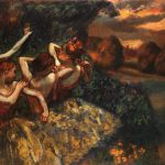 Degas Edgar Four Dancers
