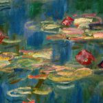 Detail From Claude Monet Water Lily Paintings Known The Nympheas