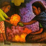 Diego Rivera Paintings Mother Helper Painting