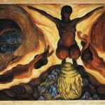 Diego Rivera Paintings Subterranean Forces Painting