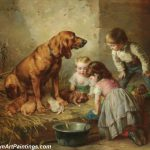 Dog Paintings Famous Artists Pic