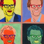 Drawn Paintings Famous Painting Andy Warhol Jim Carrey