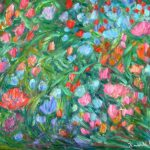 Dream Flowers Art Impressionist Floral Towheehillstudio