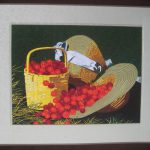 Duo Embroidery Oil Painting Cross Stitch Canvas Art Wall Decor