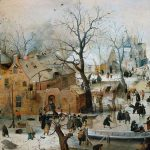 Dutch Painting The Century Detail Winter