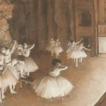 Edgar Degas Ballet Rehearsal Stage Circa Think There