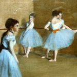 Edgar Degas Was French Artist Famous For His Work Painting