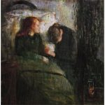 Edvard Munch The Sick Never Shied Away From Dark