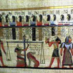 Egyptian Papyrus Handmade Painting Size