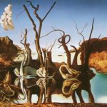 Elephants Illusion Paintings Salvador Dali View All Surreal Art