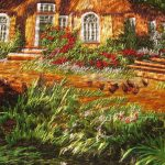 Embroidery Oil Painting Cross Stitch Canvas Art Wall Decor