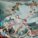 Extra Large Oil Painting Canvas Angels Playing The