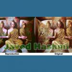 Extra Ordinary Indian Oil Canvas Paintings For Sale