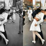 Famous Black And White Images Come Life Color