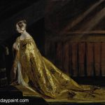 Famous Classical Paintings Queen Victoria Her Coronation Robes