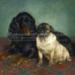 Famous Dog Paintings The Lucky Dogs