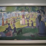 Famous Dot Painting Seurat Chicago Institute Art