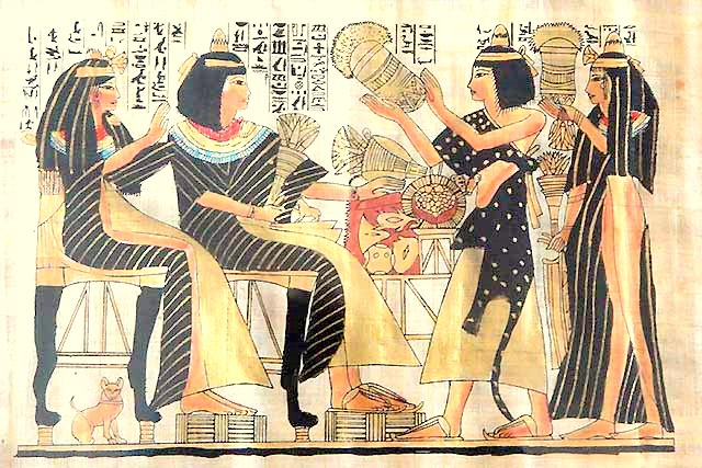 Famous Egyptian Paintings