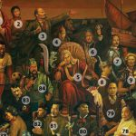 Famous Faces One Painting How Many You Recognise