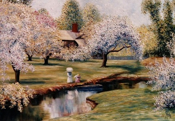 Famous Impressionist Artists The Century Oil Painting