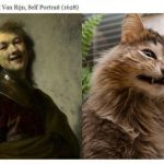Famous Paintings Cats