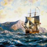 Famous Ship Paintings Ttsn Tall