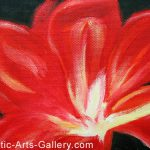 Feng Shui Painting Flower Chinese