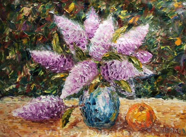 Flower Painting Still Life Flowers Original Art Impressionism Oil