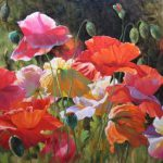 Flower Paintings Supply Impressionism Canvas