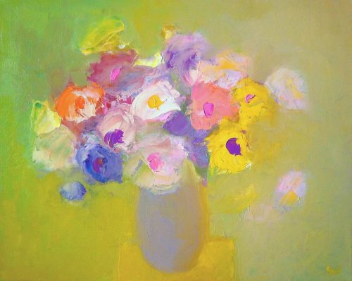 Flowers Paintings Impressionism Still Life