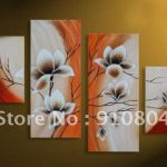 Framed Panels Huge Wall Art Pictures Canvas Painting Oil