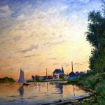 Free Picture Art Claude Monet Landscape Painting