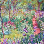 French Impressionist Painting And English Planting Design
