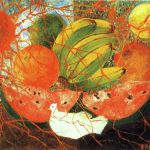 Frida Kahlo Paintings Fruit Life Painting