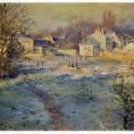 Frost Painting Claude Monet Artist Buy Oil Paintings
