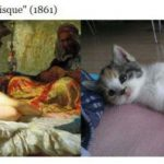 Funny Cats Imitate Famous Paintings Pics