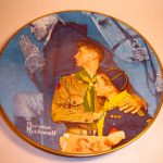 Gorham Norman Rockwell Boy Scout Plate
