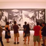 Guernica One Pablo Picasso Most Famous Paintings Showing The