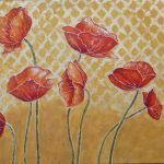 Hand Made Flower Oil Painting Canvas