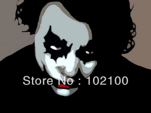 Hand Painted Cheap Price Famous Pop Art Paintings Joker China