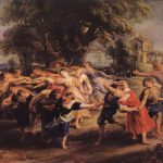 Hand Painted Oil Painting Reproduction Canvas Dance The